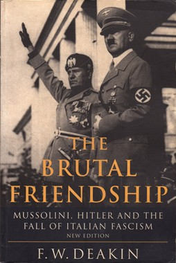 EQUILIBRIUM, The Brutal Friendship Mussolini, Hitler and the Fall of Italian Fascism